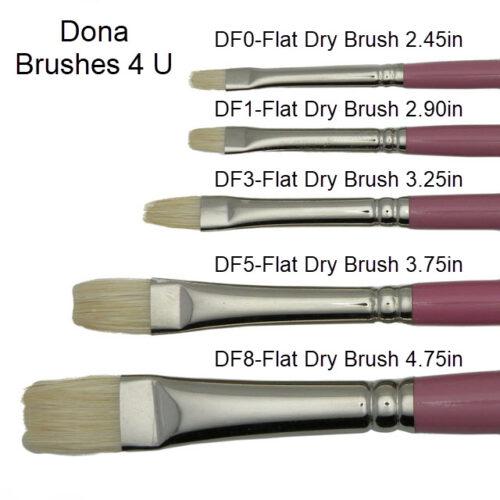 Dona Brushes 4 U Flat Dry