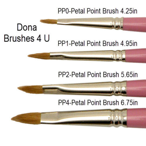 Dona Brushes 4 U Petal Point