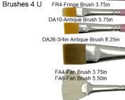 Dona Brushes 4 U Various Uses