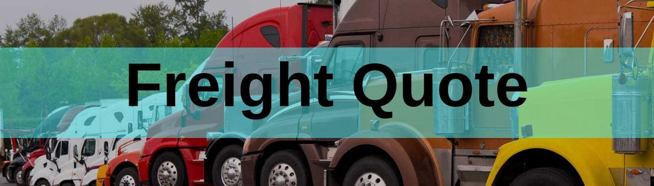 freight quote request form