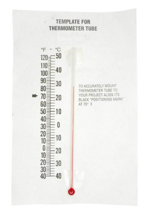 Thermometer Glass Tube