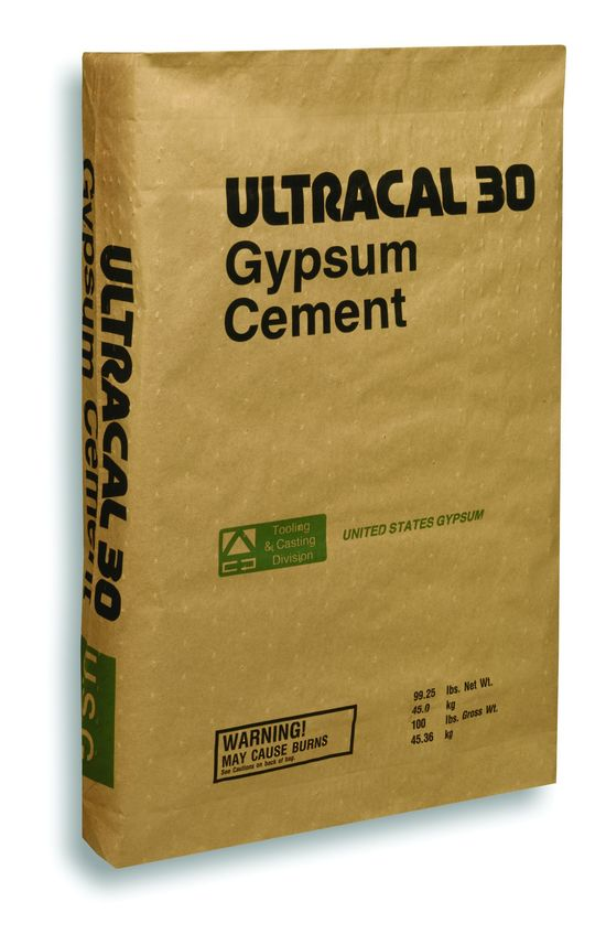 US Gypsum Ultracal 30 Plaster 50 Pounds