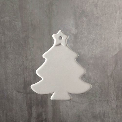 BQ SM CHRISTMAS TREE ORNAMENT