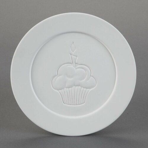 BQ SM CUPCAKE DINNER PLATE