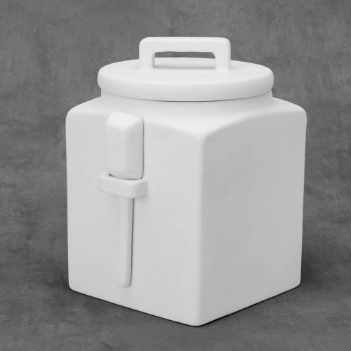 BQ LRG KITCHEN CANISTER W SCOOP