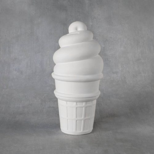 BQ LRG XL ICE CREAM CONE BANK