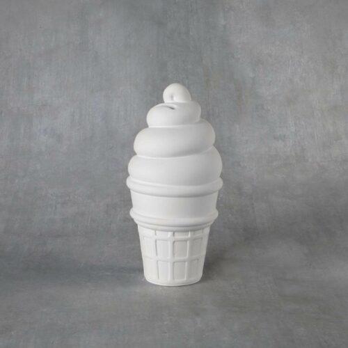 BQ MED ICE CREAM CONE BANK