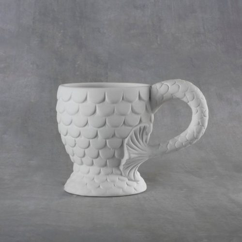 BQ SM MERMAID MUG 12 OZ
