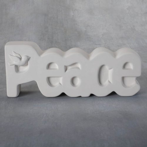 BQ SM PEACE PLAQUE