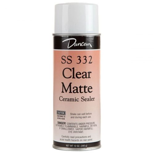 SS332 12OZ CLEAR MATTE FINISH