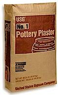 US #1 Pottery Plaster 100 Pounds