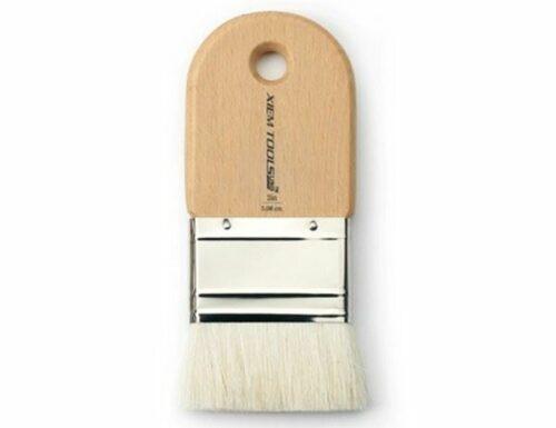 XIEM Short Cut Glaze Brush 2 in High Quality Goat Hair