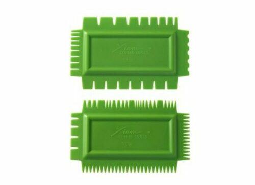 XIEM Ultimate Texture Comb A 2 ea  Flex Firm