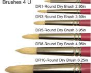 Dona Brushes 4 u Round Drybrush