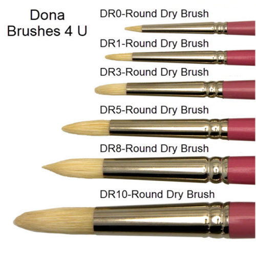 Round Drybrush